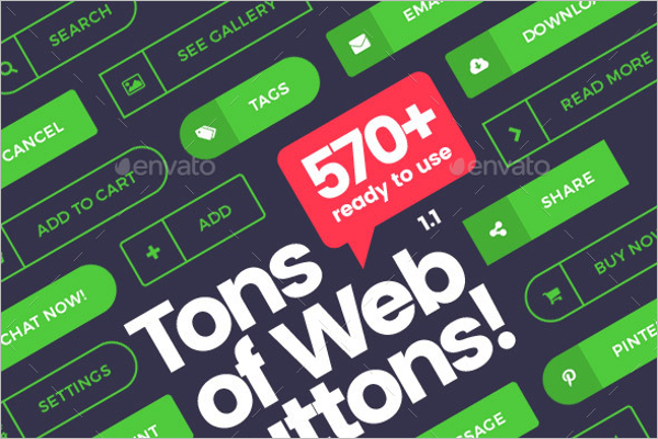 Business Web Button Template
