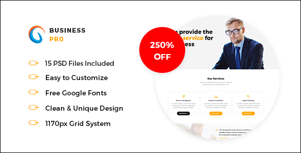 Business Website Coming Soon Template