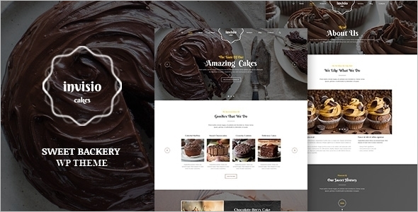 Cake Bakery WordPress Theme