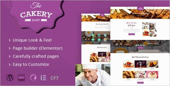 Cake Shop WordPress Theme
