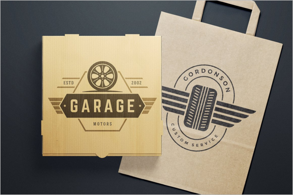 Car Badge Cover Design