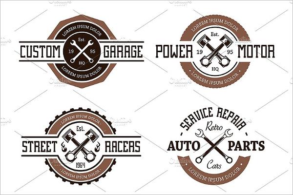 Car Badge Model Template