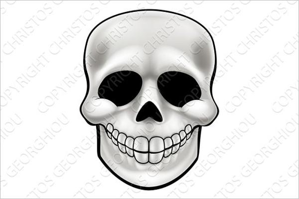 Cartoon Skull Design