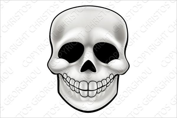 Cartoon Skull Design