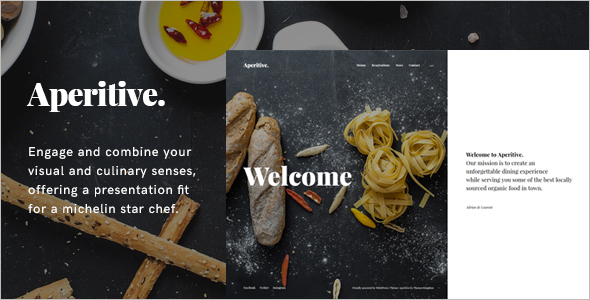 Chef WordPress Blog Theme