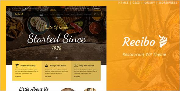 Chef WordPress Theme