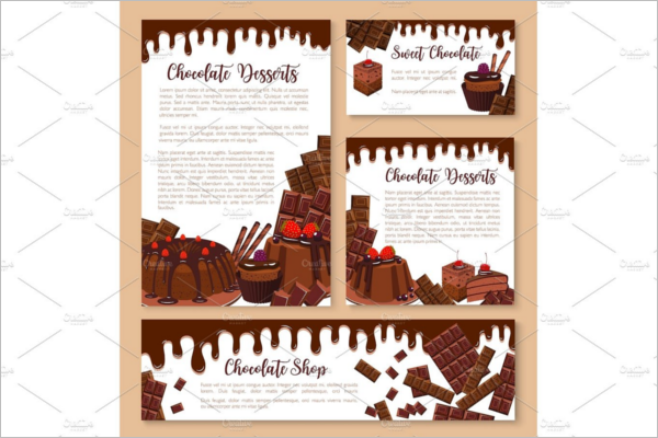 Chocolate Ice Cream Banner Design