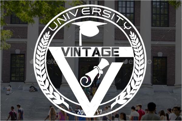 Classic University Vintage Label