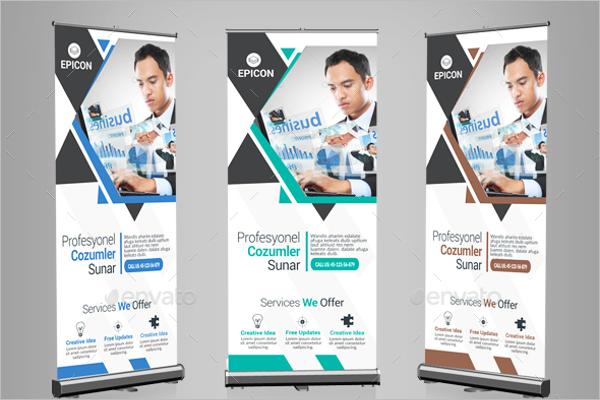 Clean Business Banner Design