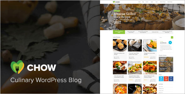 Clean Chef WordPress Theme