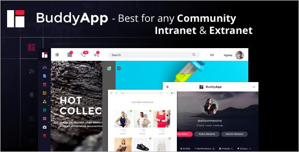 Clean Community WordPress Theme