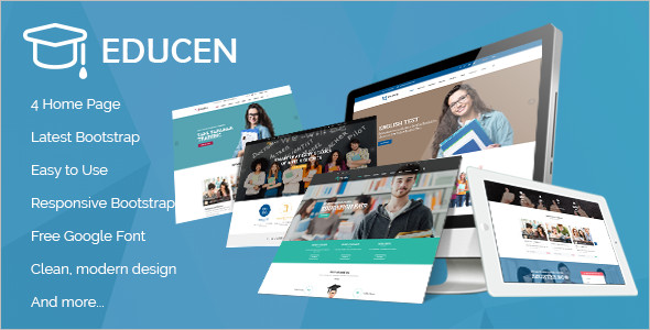 Clean Educational HTML5 Template