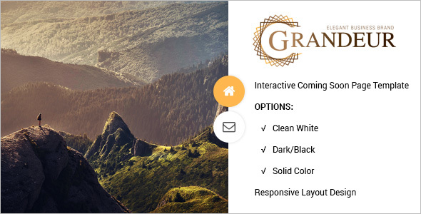Clean Website Coming Soon Template