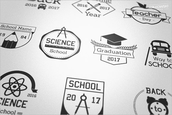 College Badges Design
