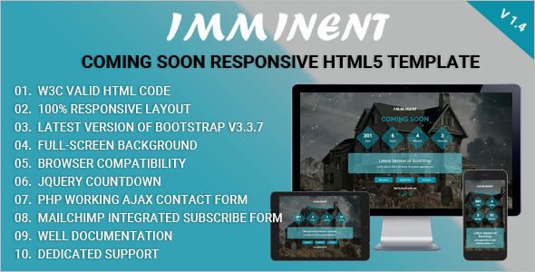 Coming Soon HTML Website Themes and Template