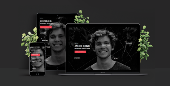 Coming Soon Portfolio HTML Template