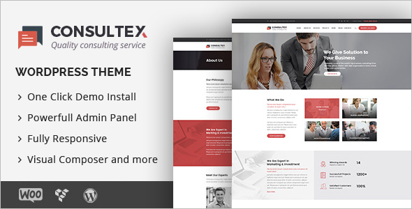 Consultex Business Consulting WordPress Theme