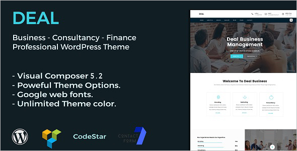 Consulting & Business WordPress Theme