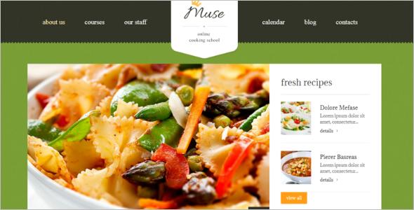 Cooking WordPress Theme