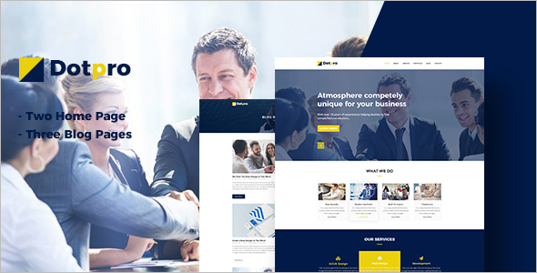Corporate Blog HTML Template