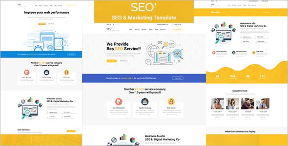 Corporate SEO HTML Template