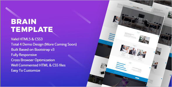 Corporate Website Coming Soon Template