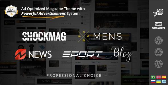 Creative Ad WordPress Theme
