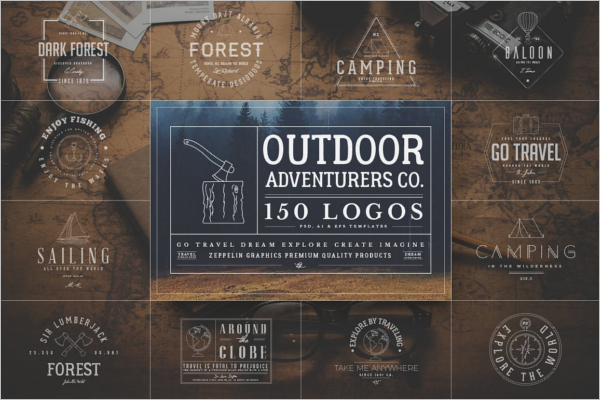 Creative Adventurers Logo Design