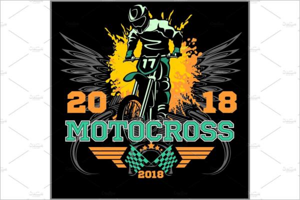 Creative Motorcycle Logo Design
