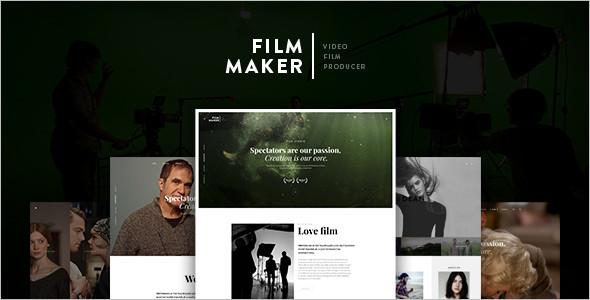 Creative Movie WordPress Theme