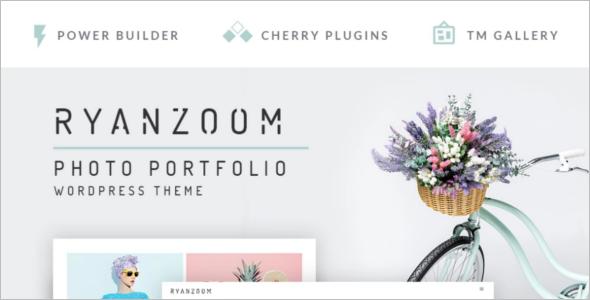 Creative Photographer WordPress Theme