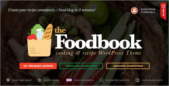 Creative Recipe WordPress Theme