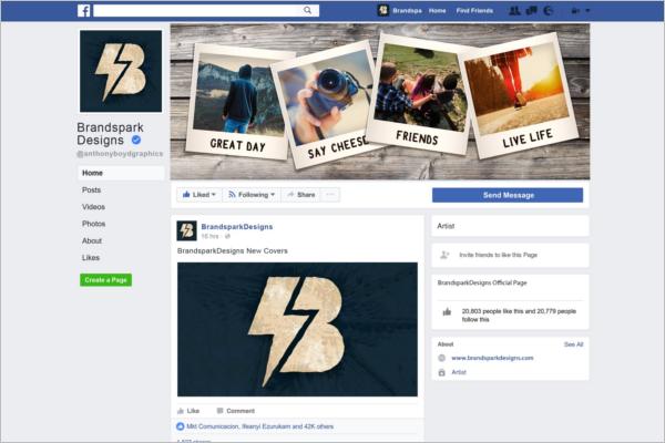 Creative Travel Facebook Cover