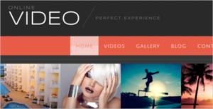 Creative Video Blog WordPress Theme