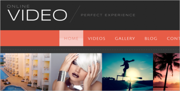 Creative Video Blog WordPress Theme