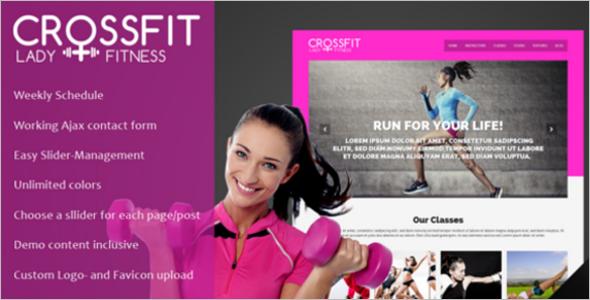 Cross Fit WordPress Theme