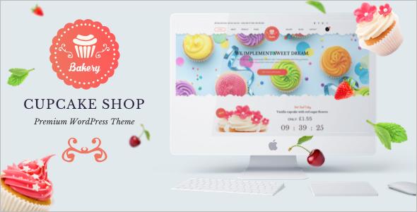 Cup Cake Shop WordPress Theme