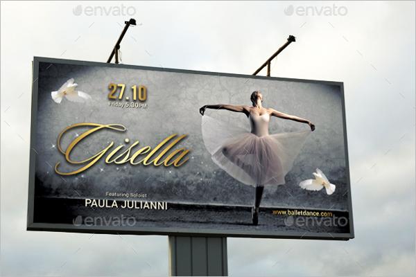 Dance Banner Advertisement Template