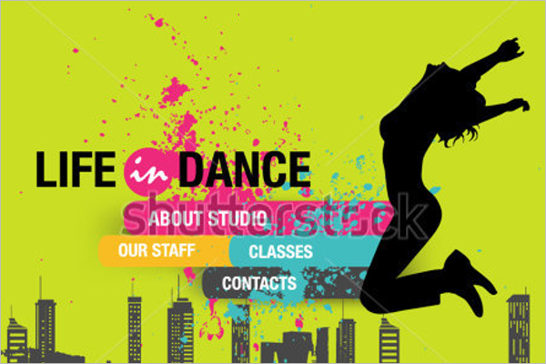 Dance Banner Sample Template