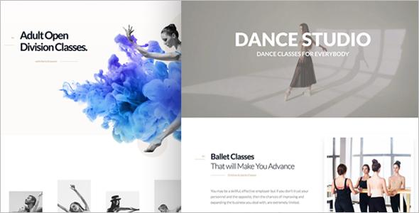 Dancing Academy WordPress Theme