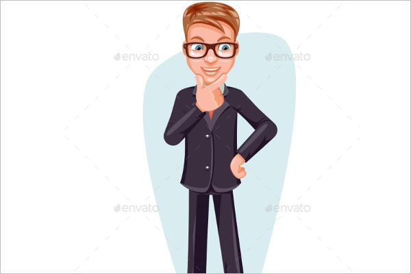 Decision Making Businessman Character
