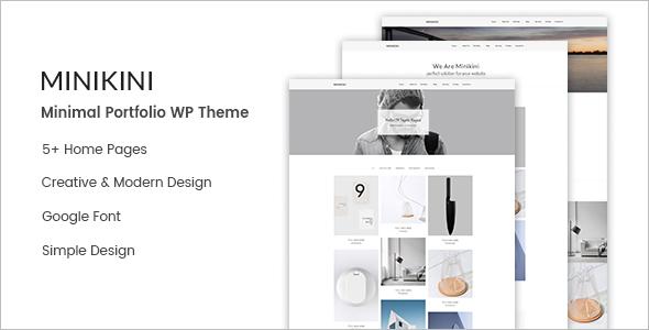Designing Portfolio WordPress Theme