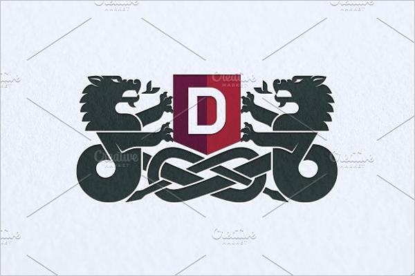 Dragon Logo Tattoo Design