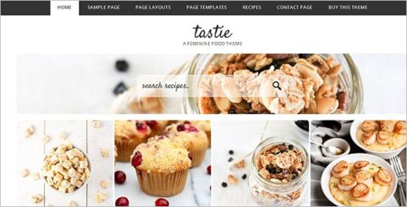 Easy Recipe WordPress Theme