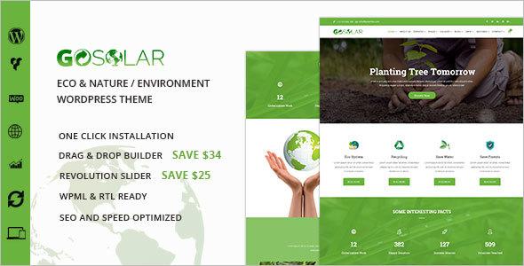 Eco & Nature WordPress Theme