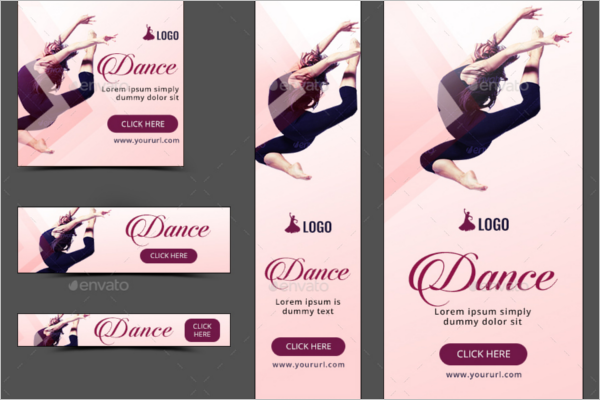 Editable Dance Banner Template