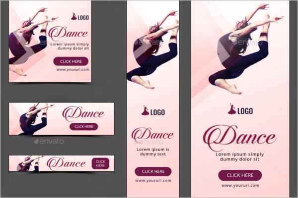 Editable Dance Banner Template