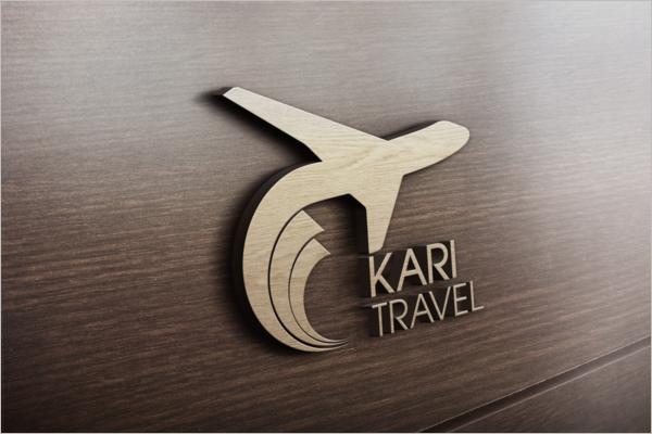 Editable Travel Logo Design
