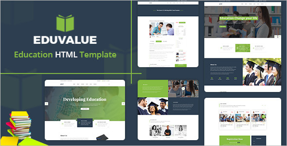 Education Bootstrap Template