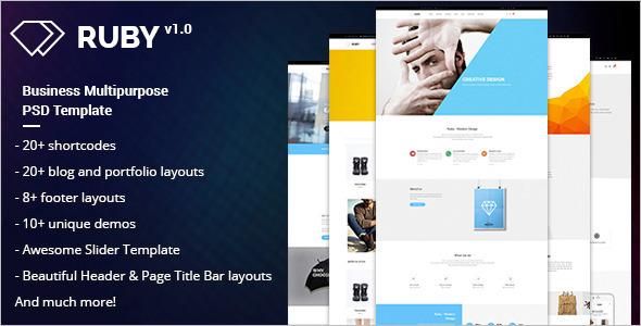 Education Landing Page PSD Theme